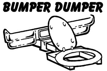 The Bumper Dumper Quot The Original Hitch Mountable